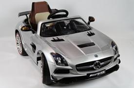 Mercedes SLS Gris