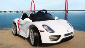 Porsche 918 Spyder Blanco